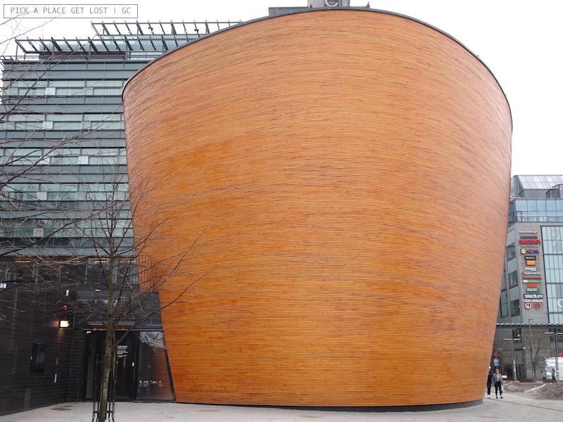 Helsinki. Chapel of Silence