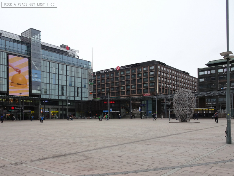Helsinki. Narinkka Square