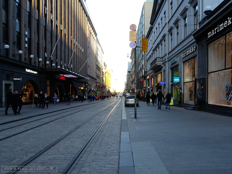 Helsinki. Aleksanterinkatu