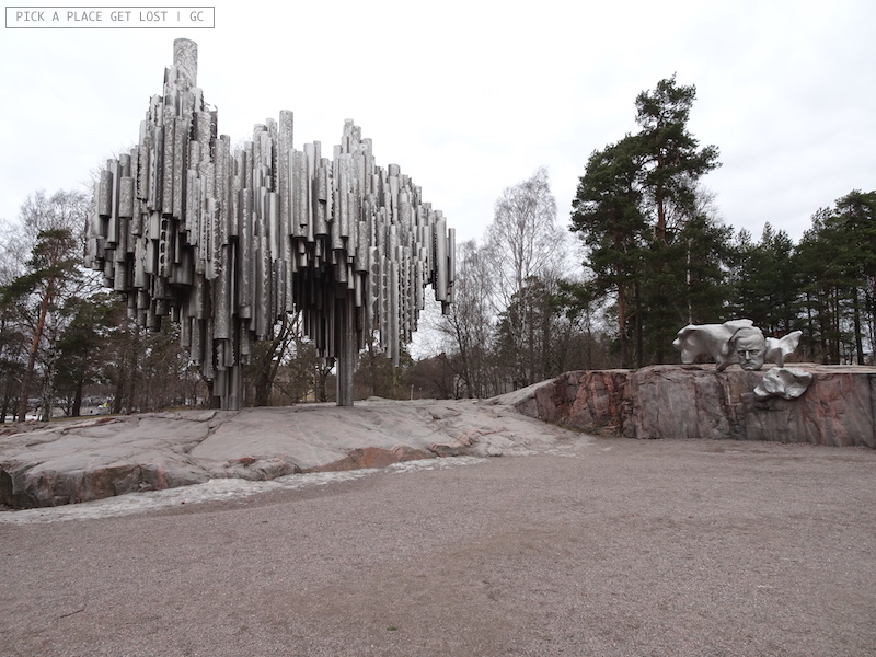 Helsinki. Sibelius Monument