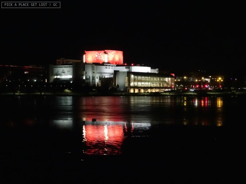 Helsinki. Opera Nazionale Finlandese