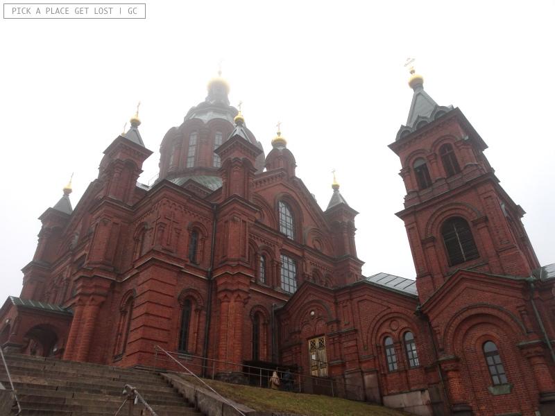 Helsinki. Cattedrale Uspenski