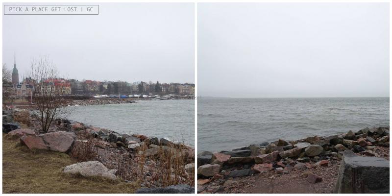 Helsinki. Lungomare