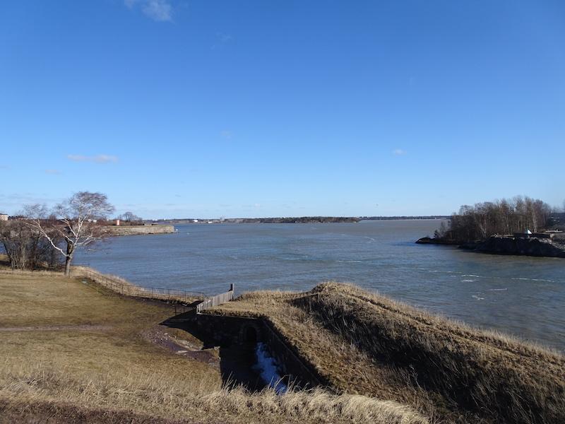 Suomenlinna, vista dalla Porta del Re