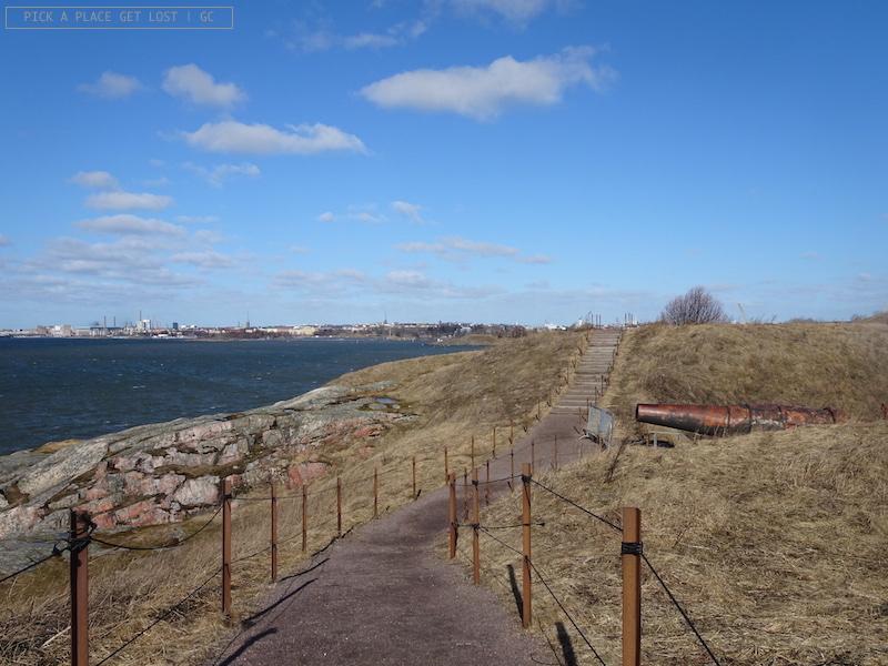 Suomenlinna, zona dei bastioni