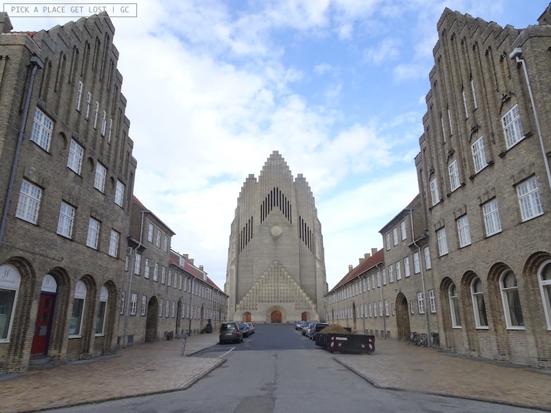 Copenaghen. Grundvigs Kirche