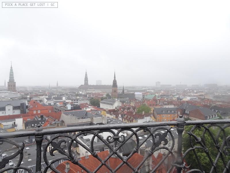 Copenaghen. Vista dalla Rundetårn