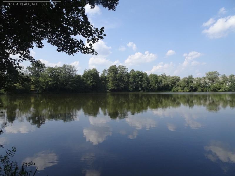 Žd'ár nad Sázavou. Bránský rybník