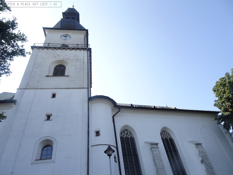 Žd'ár nad Sázavou. St. Procopius