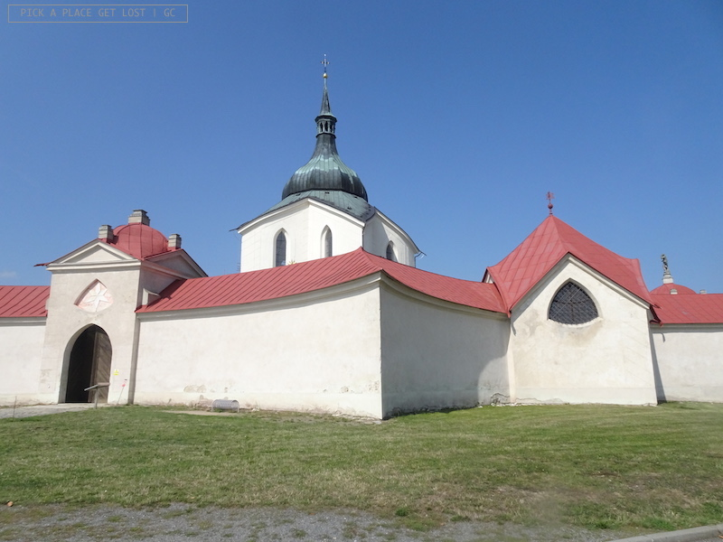 Žd'ár nad Sázavou. St. John of Nepomuk