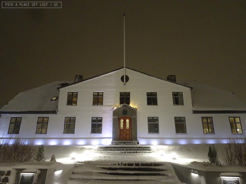 Reykjavik. Palazzo del Governo