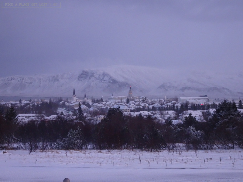 View from Perlan Museum