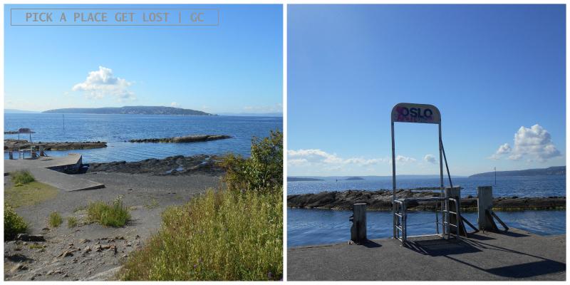 Oslo, Bygdøy, Huk beach