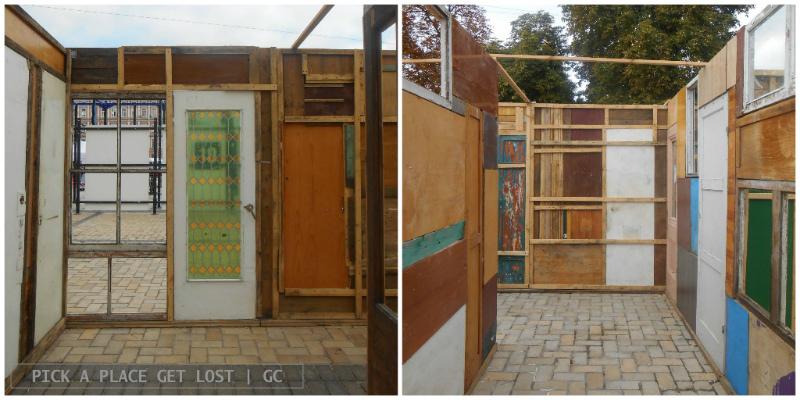 ICRC labyrinth Installation in Kiev