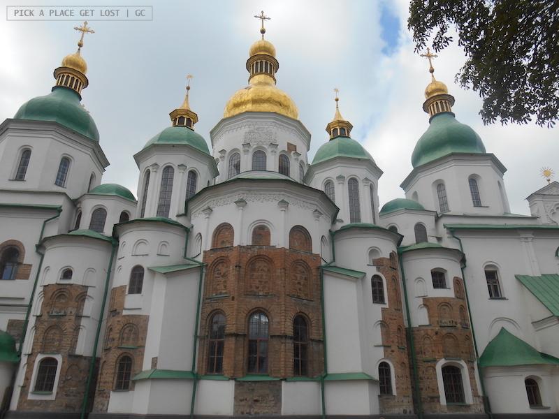 Kiev churches. Saint Sofia