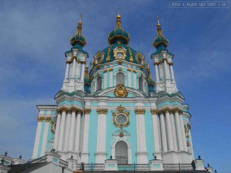 Kiev churches. St. Andrew