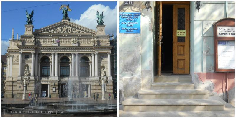 Lviv, Teatro Nazionale di Opera e Balletto