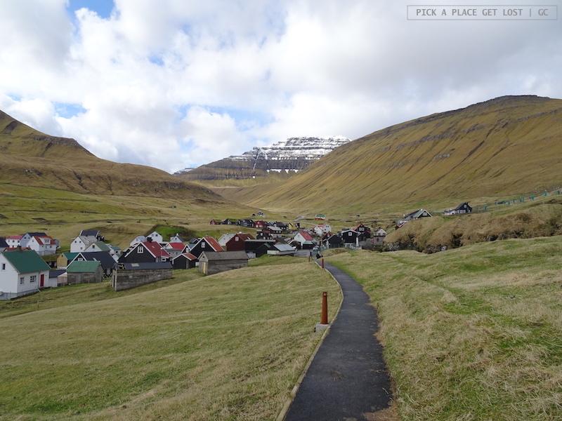 Isole Faroe. Gjógv