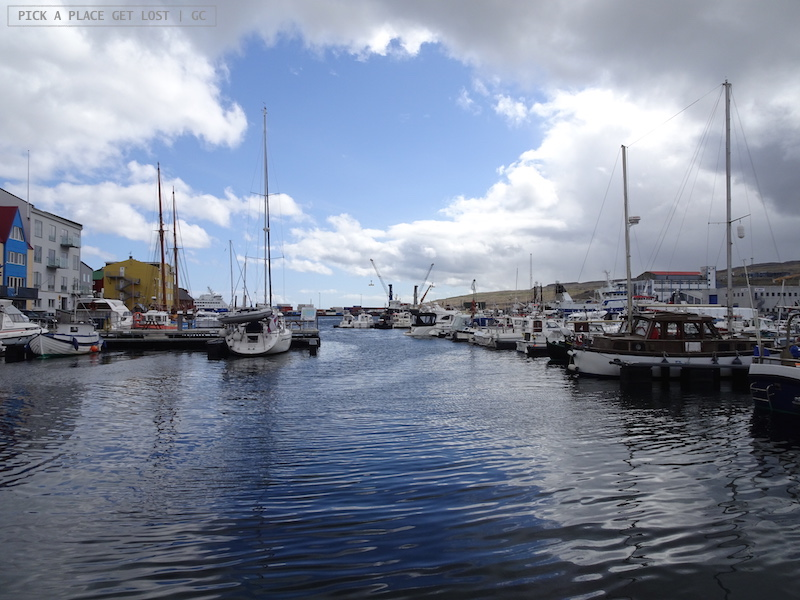 Faroe Islands. Torshavn harbour