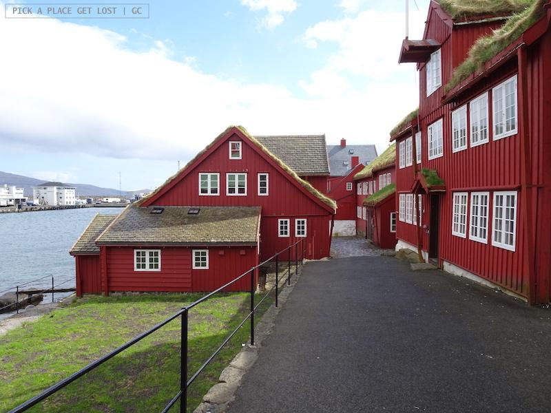 Faroe Islands. Torshavn, Tinganes