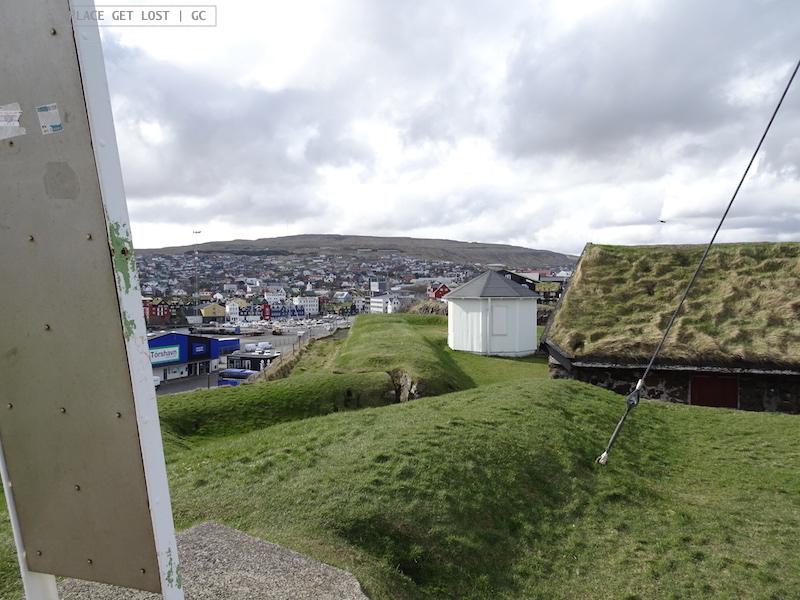 Faroe Islands. Torshavn, Skansin fort