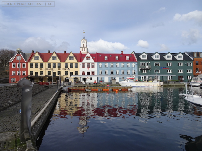 Isole Faroe. Torshavn