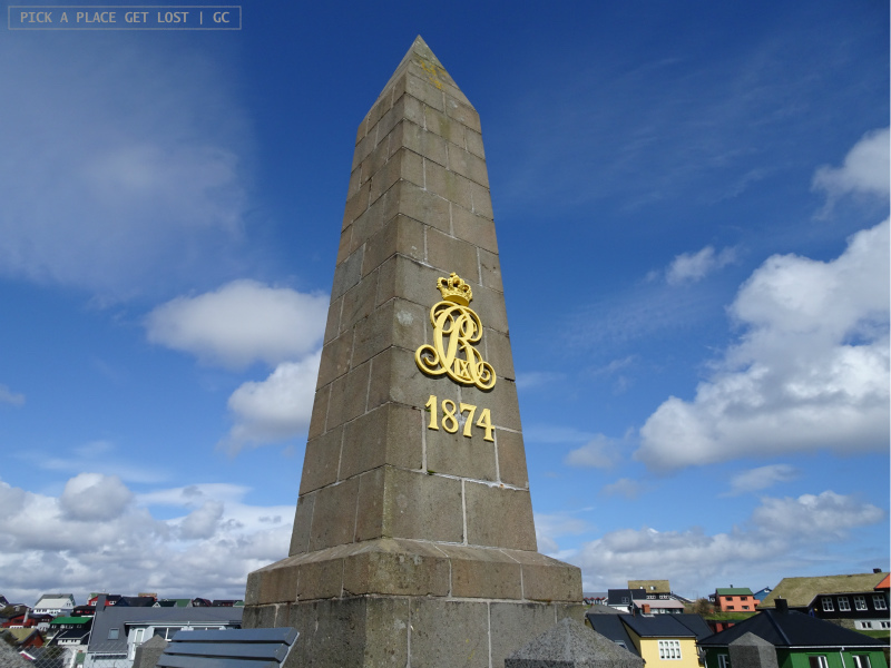Faroe Islands. Torshavn, King's Monument