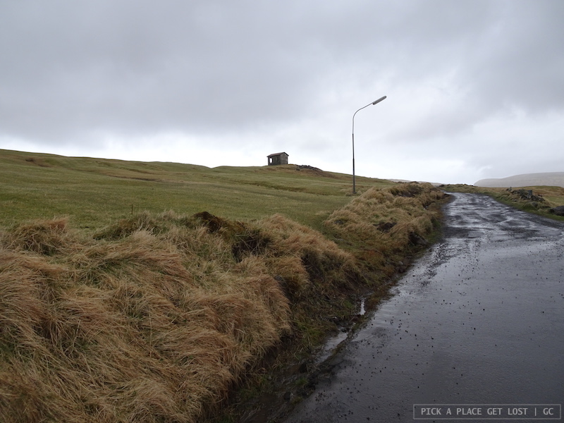 Isole Faroe. Sørvágsvatn