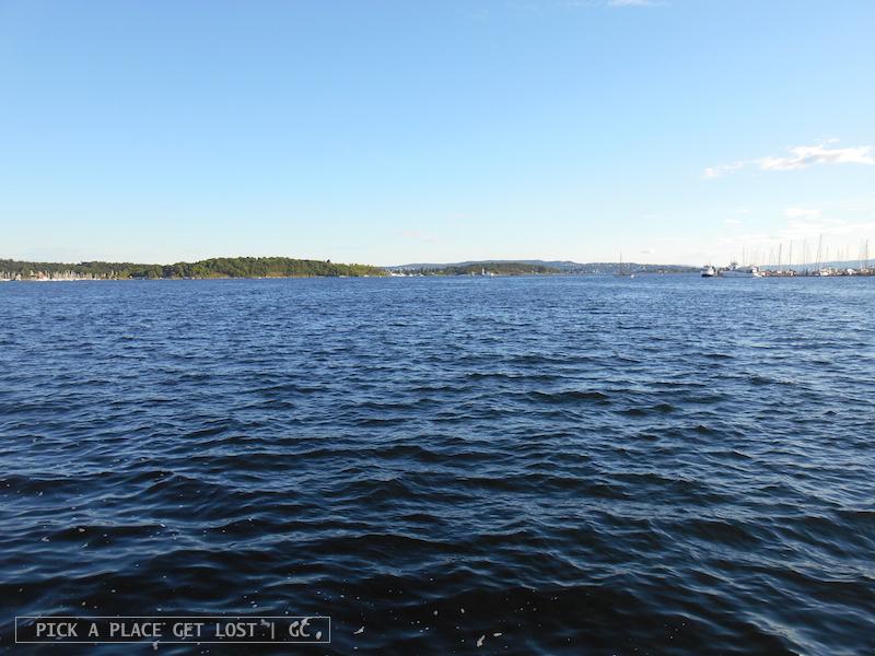 Oslo, molo traghetti