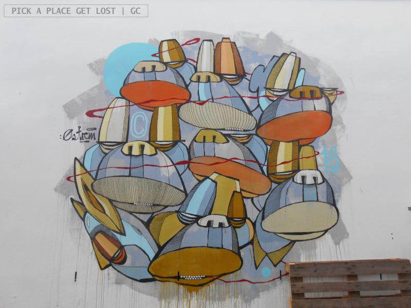 Street art a Bodø. Alte Østrem
