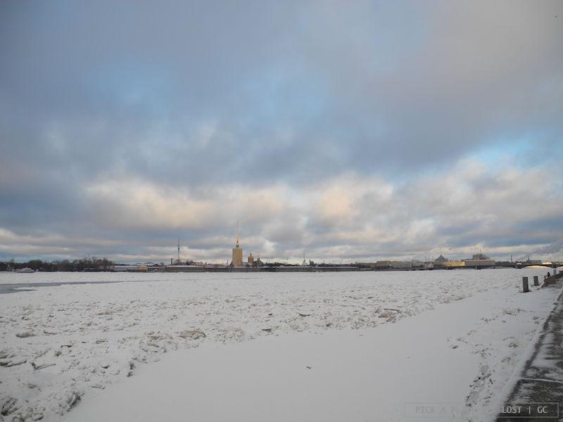 San Pietroburgo. Fiume Neva