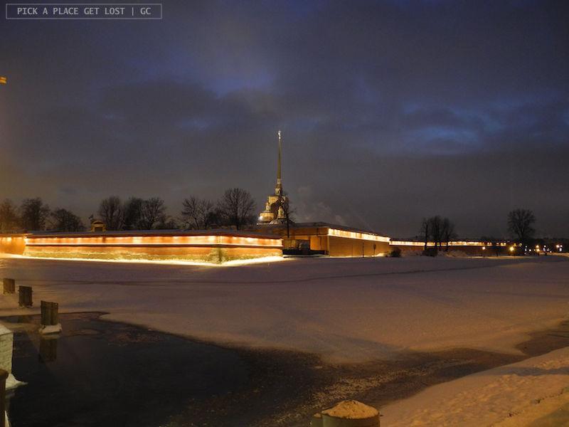 Saint Petersburg. Peter and Paul Fortress