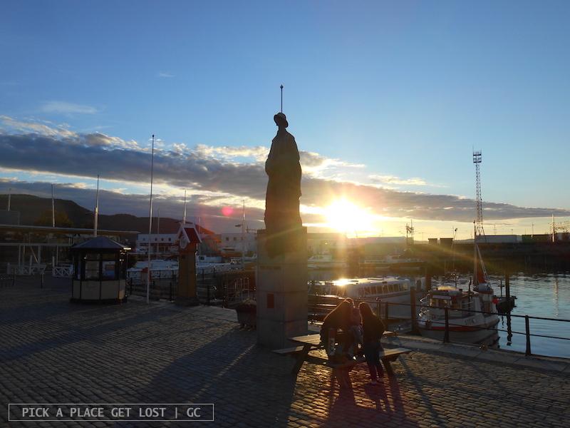 Trondheim, Ravnkloa