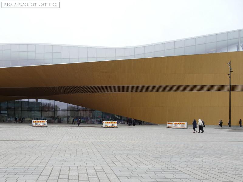 Helsinki. Oodi Central Library