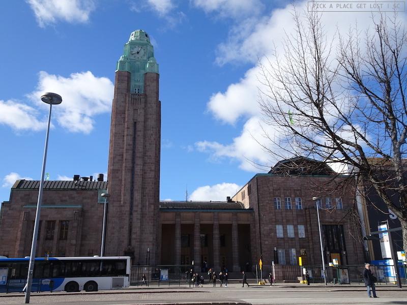Helsinki. Central Station (Rautatientori)