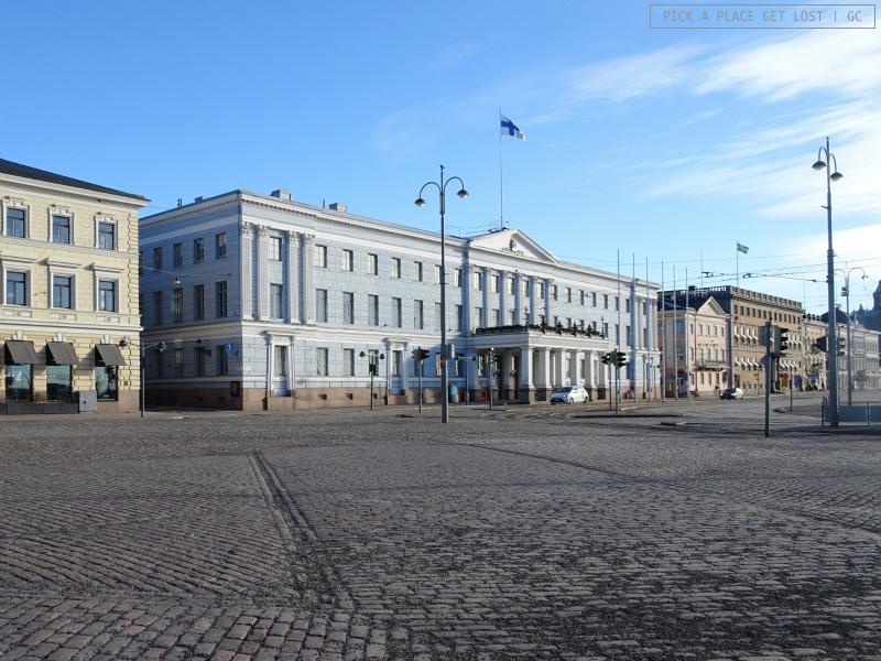 Helsinki. Piazza del Mercato