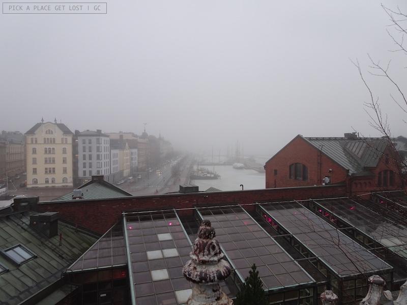 Helsinki. Vista dalla Cattedrale Uspenski