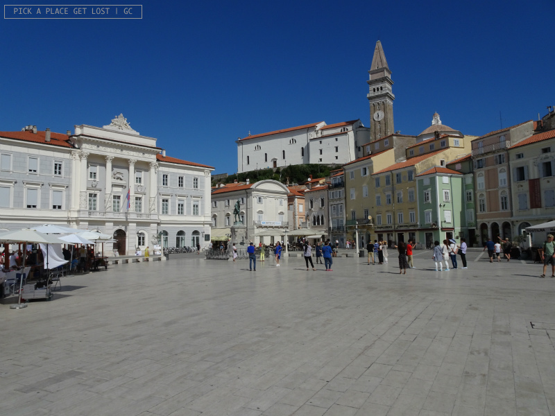 Slovenia. Piran, Tartinijev Trg