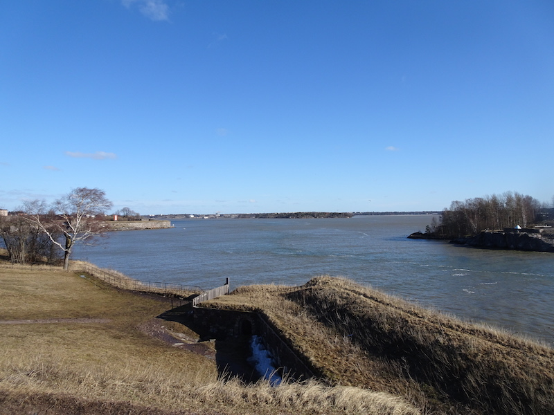 Suomenlinna, view from King's Gate
