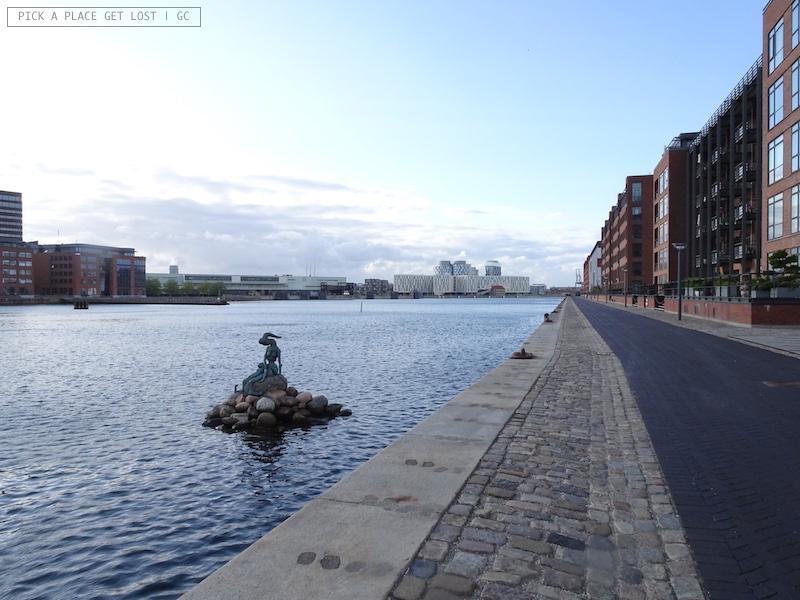 Copenhagen. Langelinie, Genetically Modified Little Mermaid