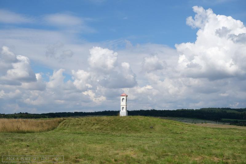 Mohelno steppe. Baroque chapel